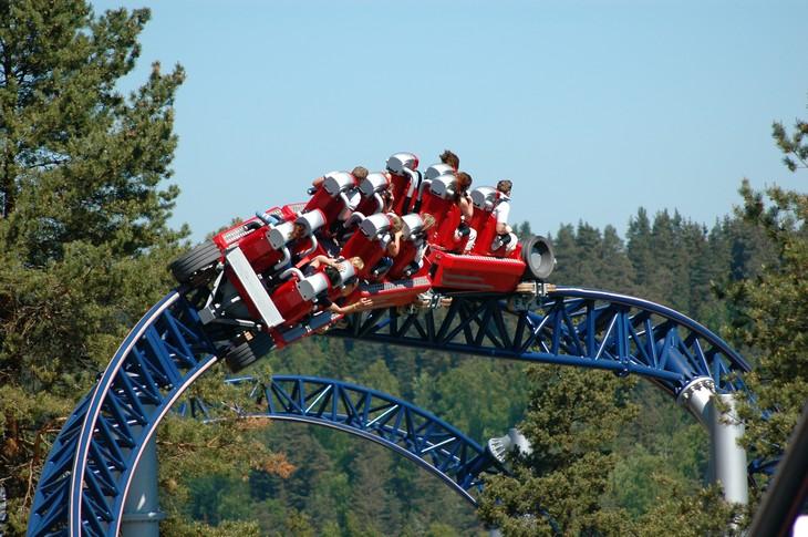 אתרים באוסלו: רכבת הרים בפארק טוסנפריד