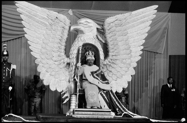 תמונות היסטוריות: טקס ההכתרה של שליט הרפבוליקה המרכז-אפריקאית ז'אן-בדל בוקאסה