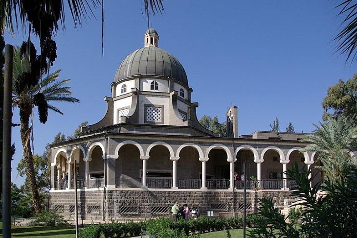 אתרים היסטוריים בצפון הארץ: כנסיית הר האושר בכפר נחום
