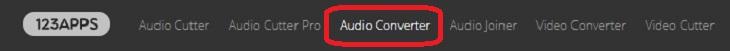 מדריך לשימוש בשירות חינמי להמרת סוגי קבצים: המרת קובץ שמע (אודיו)