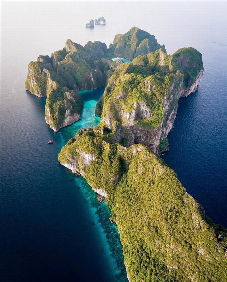 תמונות טבע מדהימות: מפרץ בתאילנד