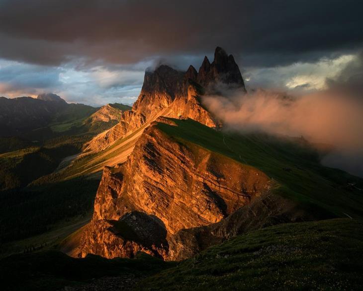 תמונות טבע מדהימות: גבעות בסשדה שבאיטליה