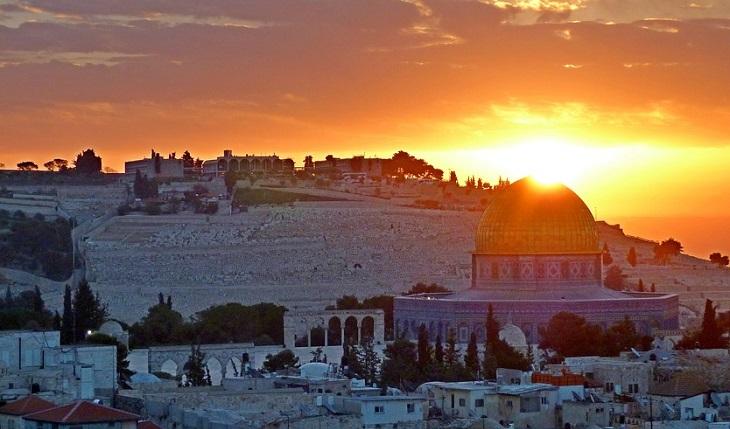 אירועי שבועו 2019: שקיעה בירושלים