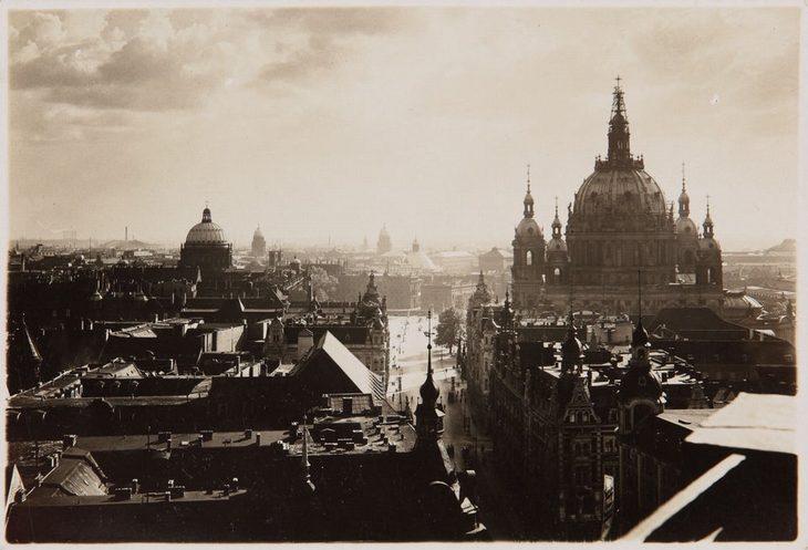 תמונות היסטוריות: נוף העיר ברלין בשנת 1920