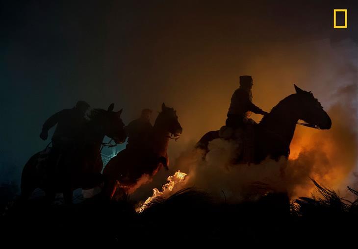 """תחרות המטיילים של נשיונל ג'יאוגרפיק: """"סוסים"""" - מקום 3 בקטגוריית אנשים"""