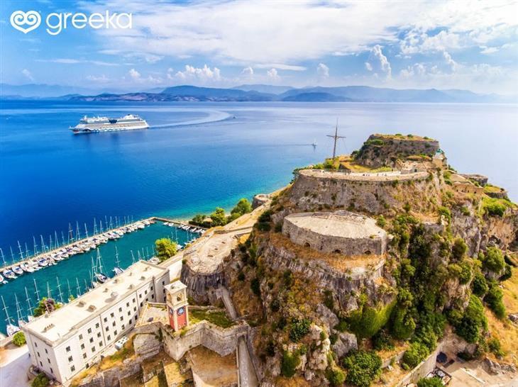 תמונות של האי קורפו: מצודה באי קורפו