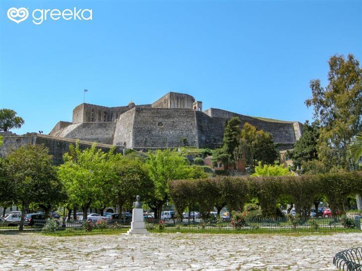 תמונות של האי קורפו: מצודת האי קורפו