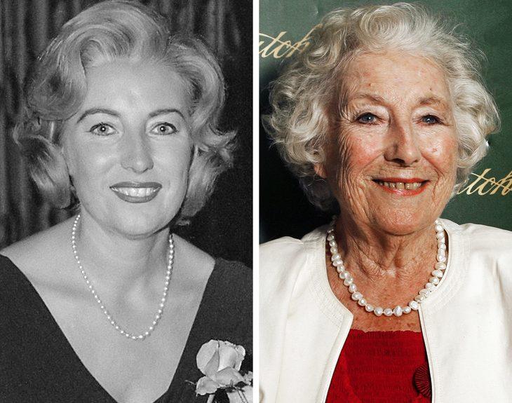 מפורסמים בני 100: ורה לין בצעירותה והיום