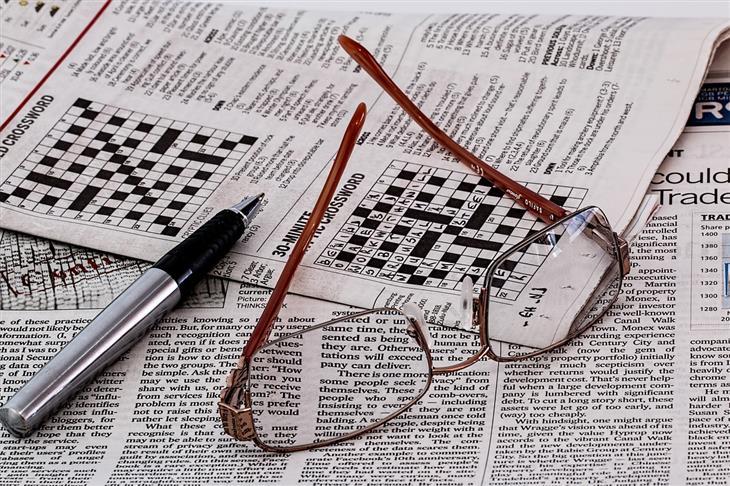 מחקר על היתרונות של סודוקו ותשבצים לשמירה על המוח בגיל מבוגר: תשבצים מעיתון