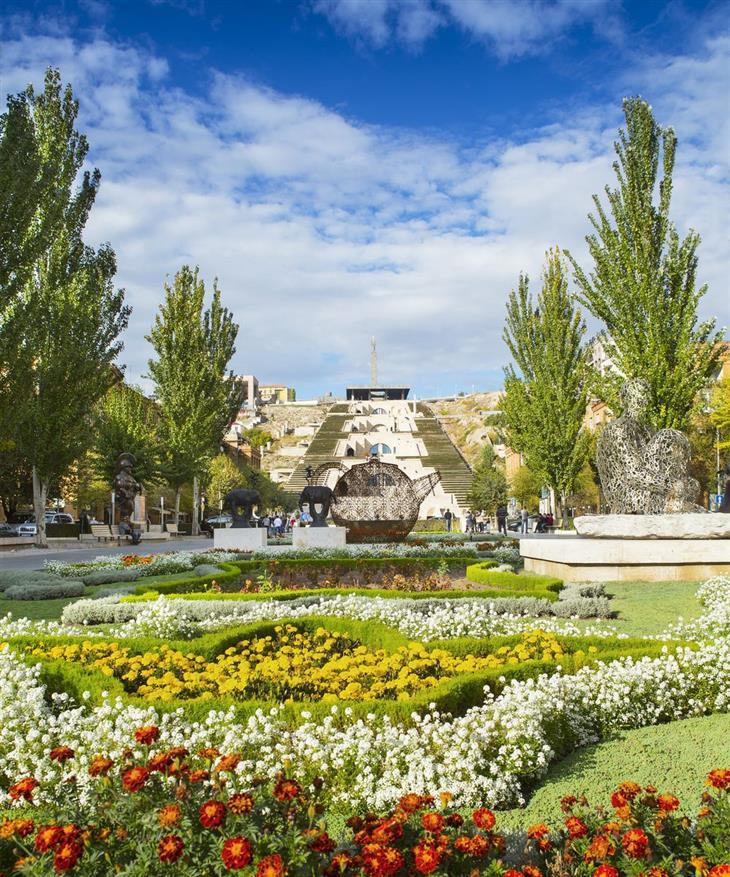 מקומות ונופים בארמניה: מדרגות קסקייד