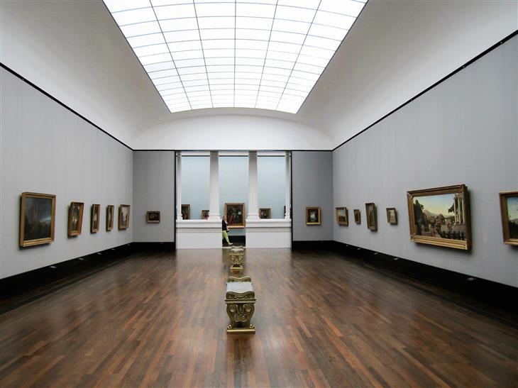 מוזיאונים בברלין: בתוך הגלריה הלאומית הישנה