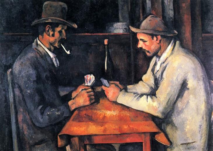 """פריטים יקרים: הציור """"שחקני הקלפים"""""""
