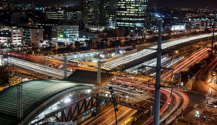 השכרת רכב בתל אביב: מחלף השלום
