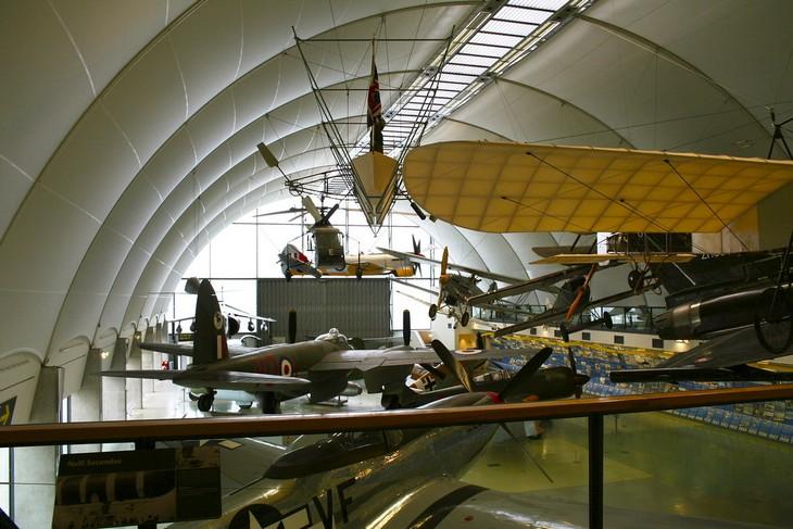 מוזיאונים מומלצים בלונדון: מוזיאון חיל האוויר המלכותי