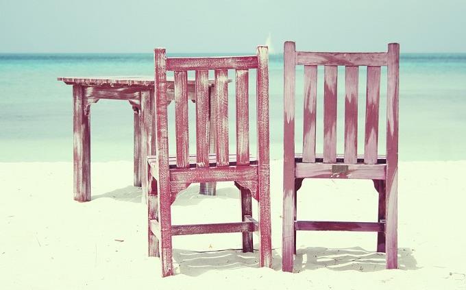 בחן את עצמך: כסאות על החוף