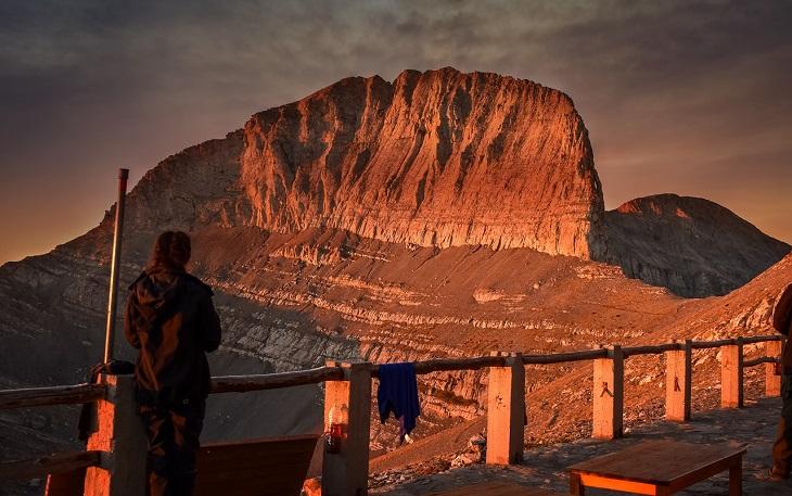 דרכים לשרוד חופשית זוגית: הר האולימפוס