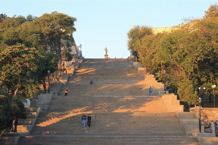 אתרי תיירות מומלצים באודסה: מדרגות פוטיומקין