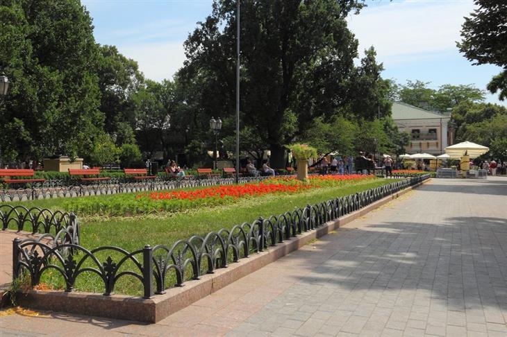 אתרי תיירות מומלצים באודסה: רחוב דריבסיבסקיה