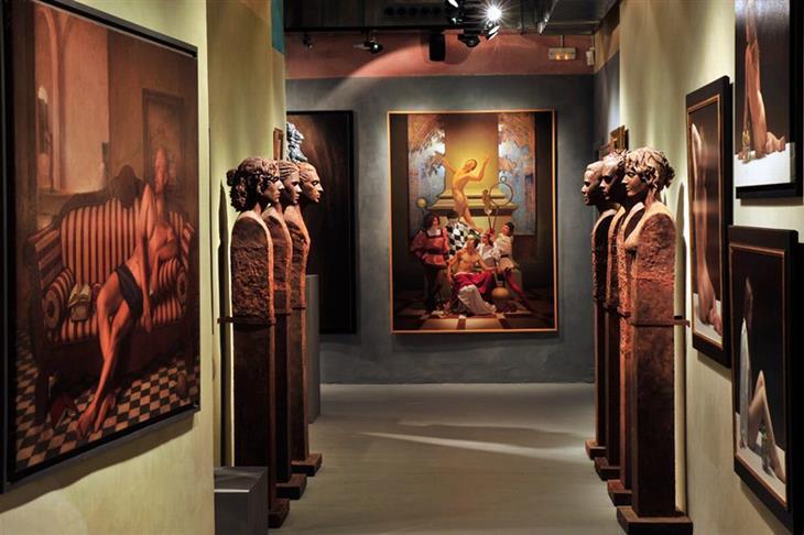 מוזיאונים בברצלונה: תצוגות במוזיאון האירופאי לאומנות מודרנית