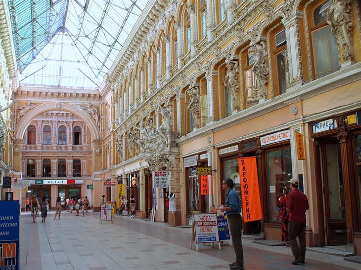 אתרי תיירות מומלצים באודסה: הפסאז' של אודסה