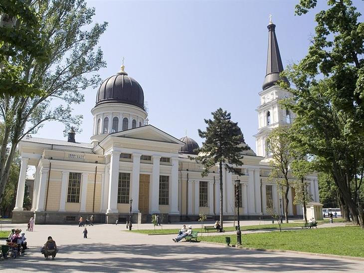 אתרי תיירות מומלצים באודסה: כנסיית ההשתנות של אודסה