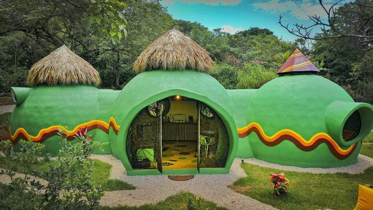 בניית בית חלומות בקוסטה ריקה: הבית בצורתו הסופית