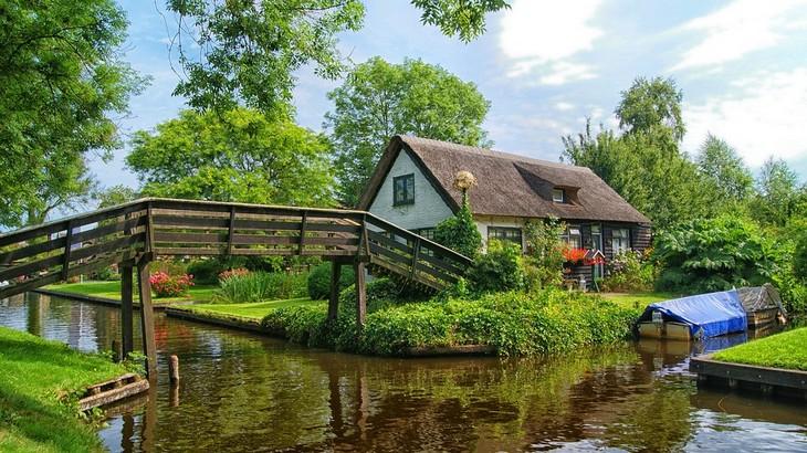 שיטת ניקסן להפחתת לחצים: בית בעיר ההולנדית חיטהורן