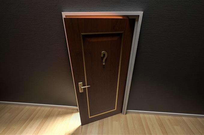 שאלון אישיות - מהי ציפור הנפש שלך: דלת ועליה סימן שאלה נפתחת