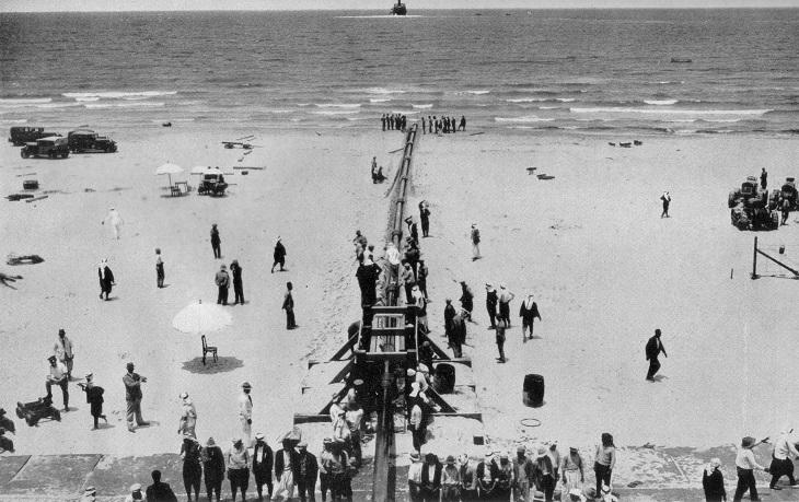 תמונות היסטוריות של חיפה: צינור הנפט כירכוכ-חיפה בשנת 1938