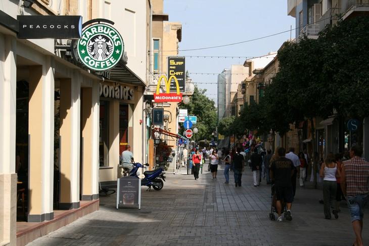 אתרים בניקוסיה: רחוב לדרה