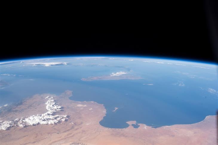 תמונות מהחלל: תיעוד מהחלל של חופי הים התיכון של לוב, תוניסיה וסיציליה