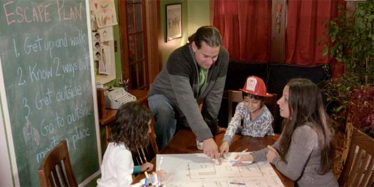 ימי הולדת לילדים בקיץ: משפחה בחדר בריחה
