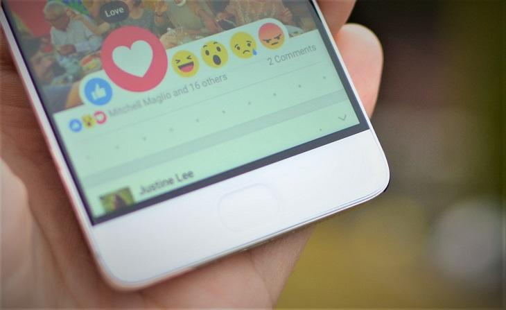 רשתות חברתיות וזוגיות: סימון לב באפליקציית פייסבוק