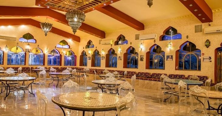 כפר הנופש ביאנקיני: מסעדה מרוקאית במתחם כפר הנופש