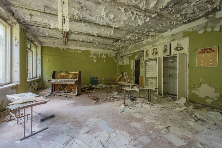 documenting the consequences of the Chernobyl disaster