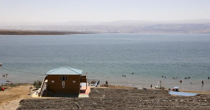 כפר הנופש ביאנקיני: חוף ים המלח