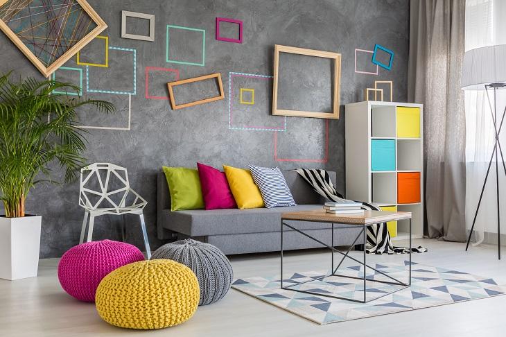 ריהוט מעוצב: רהיטים צבעוניים