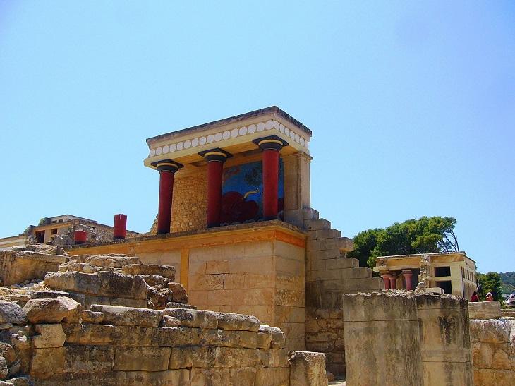 אטרקציות בכרתים: ארמון קנוסוס