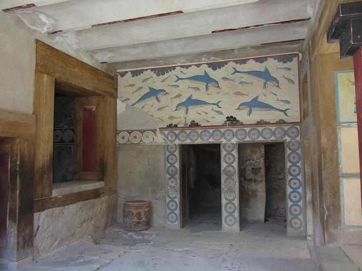אטרקציות בכרתים: ארמון קנוסוס מבפנים