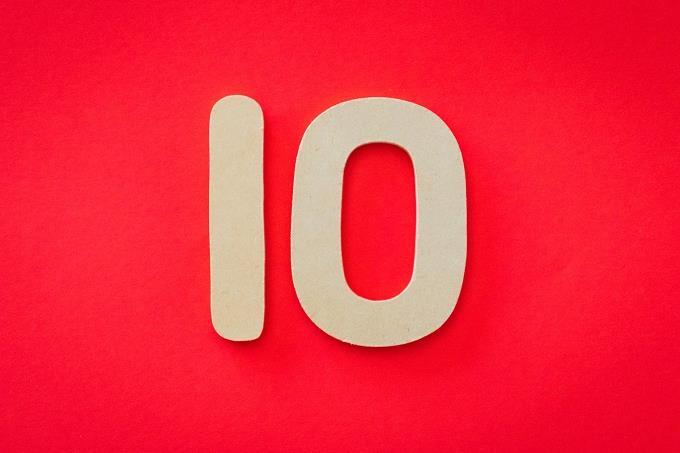 """מבחן אישיות לפי מקום בילוי: """"10"""" על רקע אדום"""