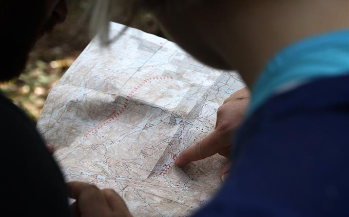 מבחן טריוויה: חיפוש במפה