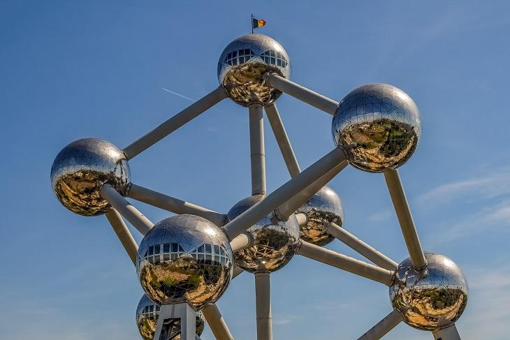 מסלול לטיול בבלגיה: פסל האטום בבריסל