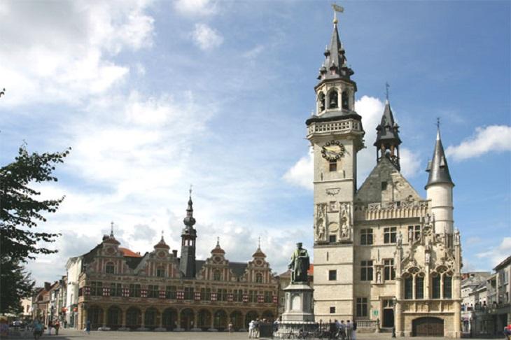 מסלול לטיול בבלגיה: מרכז אלסט