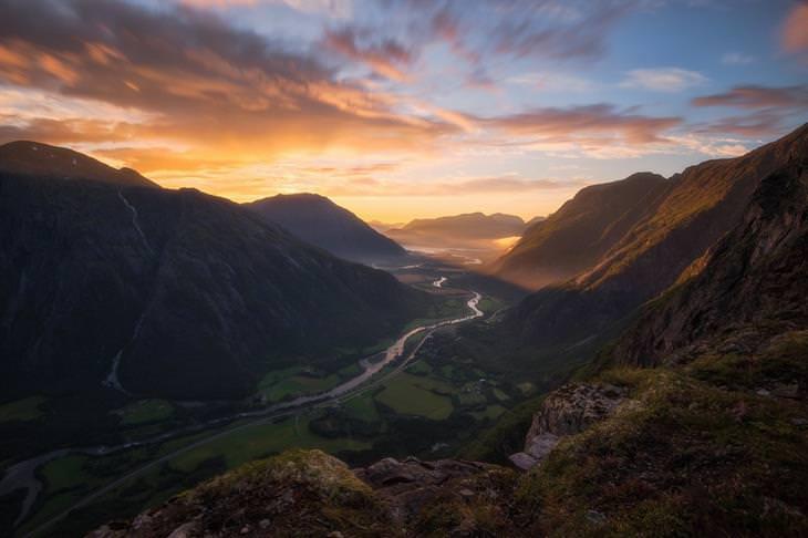תמונות נוף מדהימות: עמק רומסדאל