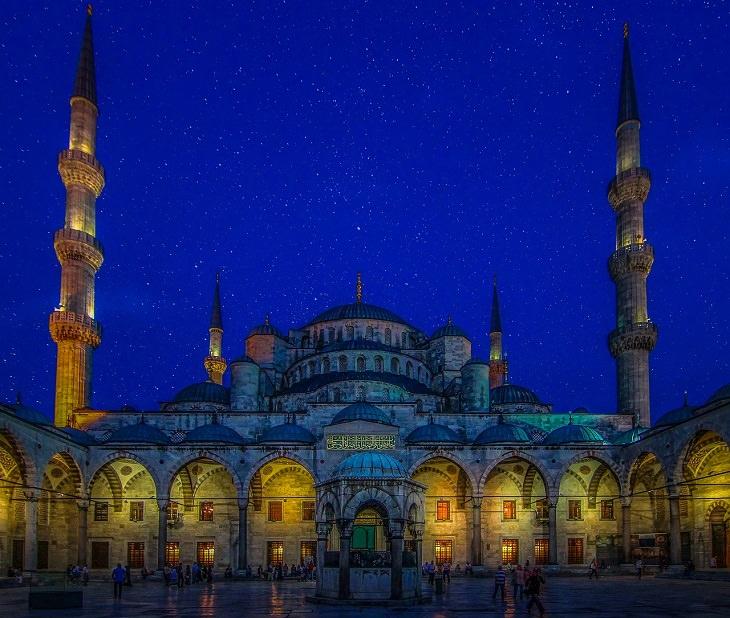 אטרקציות באיסטנבול: המסגד הכחול