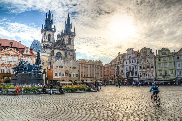 מסלול טיול בצ'כיה: פראג
