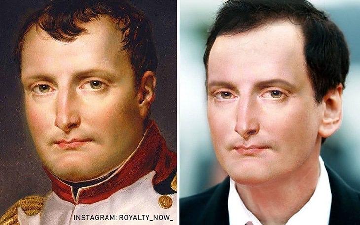 אישים מפורסמים מההיסטוריה במראה עכשווי: דיוקן של נפוליאון בונפרטה מן העבר ואיך היה נראה כיום