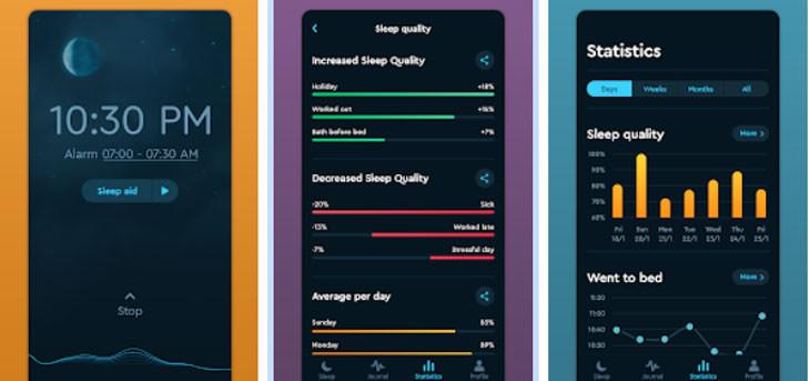 אפליקציות שינה: אפליקציית Sleep Cycle