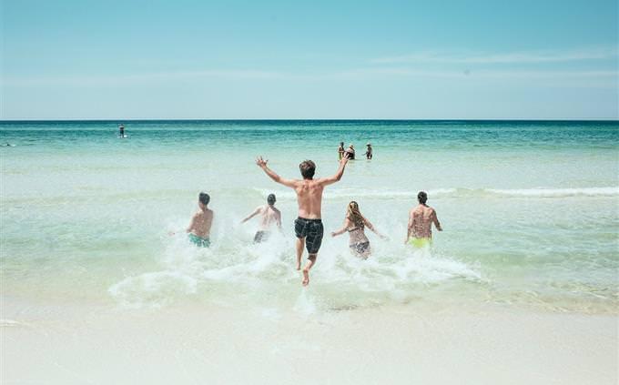 מבחן עברית: אנשים בים