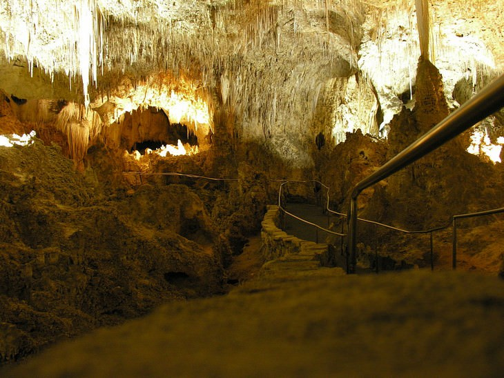"""אתרי מורשת בארה""""ב: הפארק הלאומי מערות קרלסבד"""